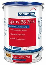 Remmers Epoxy BS 2000 transparent 2,5kg Imprägnierung Grundierung Versiegelung #