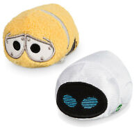 Official Disney Store Pixar Wall-e & Eve Mini Tsum Tsum Soft Toy Plush NEW