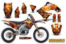 KAWASAKI KXF450 KX450F 09-11 GRAPHICS KIT CREATORX DECALS INFERNO ONP