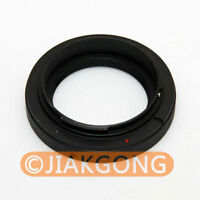 T2 T mount Lens to Canon EOS EF mount adapter 650D 60D 550D