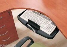 Under Desk Computer Keyboard Tray Mouse Tray Shelf Sliding Runners System