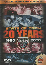 20 Years History Of State Of ORIGIN 1980-2000 (2 DVD Set) NSW vs QLD NRL DVD