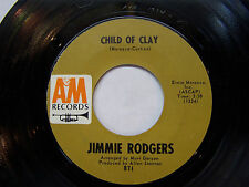 "JIMMY ROGERS 45 Record ""Chile of Clay"" / ""Turnaround"" His Last Chart Hit! VG+"