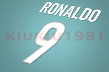 Inter Milan Ronaldo #9 1999-2000 Homekit Nameset Printing