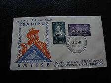 AFRIQUE DU SUD - enveloppe 26/3/1952 (cy23) south africa