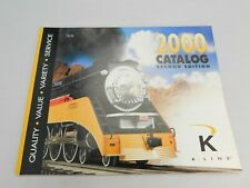 K LINE Catalog Magazine 2000 Second edition ELECTRIC TRAINS free postage