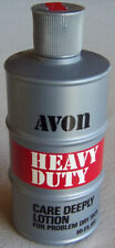 """Vintage Avon for Men """"HEAVY DUTY"""" Lotion for Problem Dry Skin FULL 10 oz. - NEW!"""