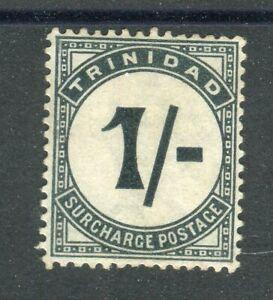 Trinidad & Tobago 1885 Postage Due 1/- slate-black SG.D9 MLH