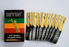Baritone Saxophone Reeds Strength 2.5 , 10-pack