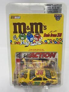 1998 NASCAR #36 Ernie Irvan M&M's Pontiac Action Performance 1/64 Scale DieCast