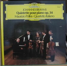 QUARTETTO ITALIANO/POLLINI/BRAHMS QUINTETTE POUR PIANO FRENCH LP DEUTSCHE 1980