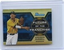 2013 BOWMAN #FF-AR ADDISON RUSSELL FUTURE OF THE FRANCHISE REFRACTOR RC #150/250