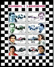 Austria Formula 1 Race Car Legends MNH 2006 Souvenir Sheet Scott's 2051 Formel 1