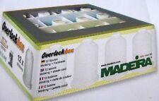 Madeira overlockbox 12 Bobina 3 Variantes de color miniking negro y blanco 9200