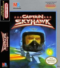 Captain Sky Hawk For Nintendo NES Vintage 6E