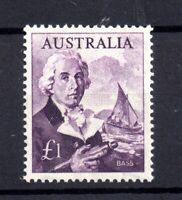 Australia 1963-65 £1 violet SG359 mint MH WS19652