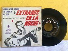 """MARCO ANTONIO MUÑIZ EXTRAÑOS EN LA NOCHE MEXICAN 7"""" EP PS POP EN ESPAÑOL"""
