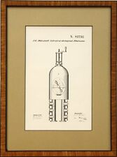 J.G. Marshall Patent Print, Solvent or Detergent Processes, No. 82732, Oct 1868