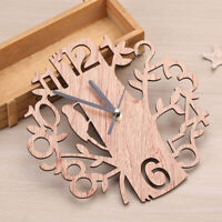 Wall Clock Watch Battery Powered Creative Decoration Living Room Bedroom