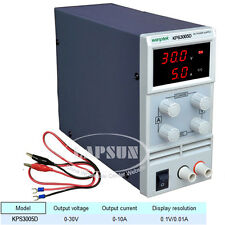 Adjustable DC 0-30V 5A Switching Power Supply LCD Display 110V / 220V KPS3005D K