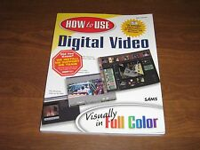 How to Use Digital Video by Dave Johnson (2000, Paperback)