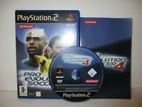 Pro Evolution Soccer 4 - PS2 PAL Complete