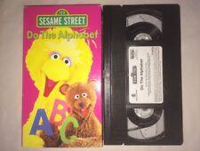 Sesame Street - Do the Alphabet (VHS, 1996) Big Bird RARE