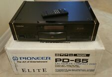 Boxed Mint Pioneer ELITE PD-65 Reference CD Compact Disc Player PD65