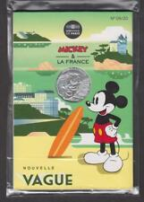 France - Pièce de 10 euros Argent - Mickey - N°9 - Nouvelle vague