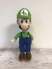 """Super Mario Bros. 15"""" Luigi Plush, Soft Toy"""