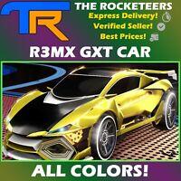 [PC] Rocket League Every R3MX GXT Limited Battle Car Titanium White Crimson etc.