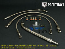Turbo Oil & Water Line Kit Saab 9-3 AERO B207R TD04 TD04L 12T 14T Turbochager