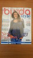 Burda Style Sewing Magazine August 2010 - Unused, Uncut Patterns