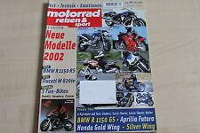 164770) BMW R 1150 RS im TEST - Motorrad Reisen Sport 09/2001