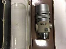 Comparador de Nikon 100x lente óptica Proyector de perfil 17319