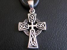 Keltisches Kreuz Silber 925 er Ketten Anhänger Keltik Keltenkreuz / KA 031