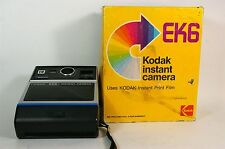 Vintage EK6 Kodak Instant Camera and Box Untested