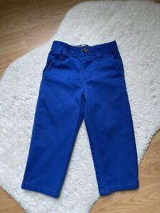 Gymboree Toddler Boys Size 2T Blue Chino Pants