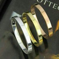 Herren Armband Rose Gold Silber plt Armreif Schmuckset Q9V8 Liebe Bracelet P8P4