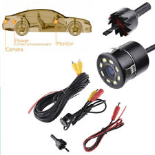 Car Rear View Camera LED Night Reversing Parking CCD Waterproof 140Degree 18.5mm