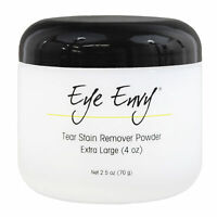 Eye Envy Tear Stain Remover Powder for Dogs and Cats All Natural Eye Care 4 oz