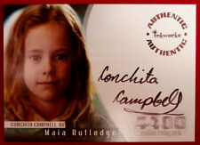 THE 4400 - Season One - CONCHITA CAMPBELL as Maia Rutledge, Autograph Card, 2006