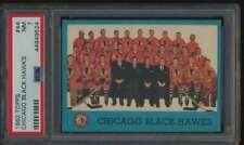 1962 Topps #44 Blackhawks Team  PSA 7  NM 55542