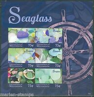 MICRONESIA 2014 SEAGLASS  SHEET I  MINT NH