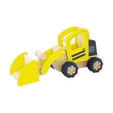 Pintoy P3002 Radlader gelb aus Holz NEU!  #