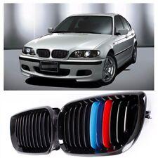 Avant M-couleur Noir Calandre Grillade Grille Pour BMW E46 4 Door 3-Series 02-06