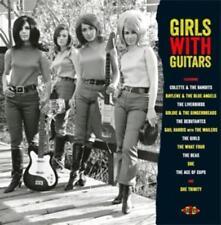 Girls With Guitars (180 Gr.Crimson Vinyl) von Various Artists (2014)