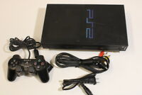 Sony PlayStation 2 PS2 Console SCPH-50000 Clear Black AV/AC Japan Import 2PC019M