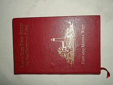 Sierra Club Field Guides To The National Parks East and Middle West Red Leather