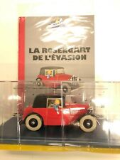 en voiture Tintin n16 la rosengart de l'évasion 1/24 NEUF JAMAIS OUVERT